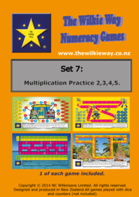 Set 07 Multiplication Practice 2,3,4,5