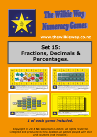 Set 15 Fractions, Decimals & Percentages