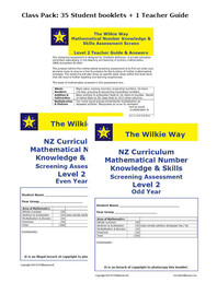 Level 2 Assessment Screen Class Pack