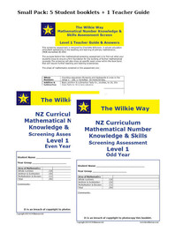 Level 1 Assessment Screen Small Pack
