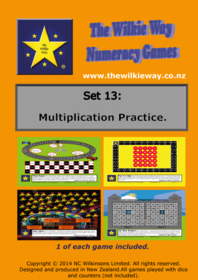 Set 13 Multiplication Practice