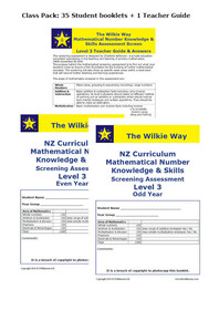 Level 3 Assessment Screen Class Pack